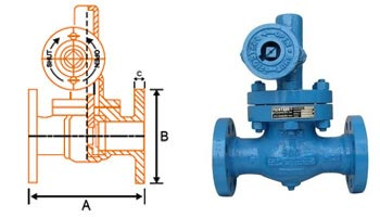 Blown Down Valve Size Chart