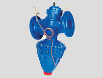 Cast Iron Modulating Differential Pressure Control Valve, Flanged PN16, DH Type