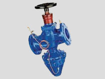 Cast Iron Modulating Differential Pressure Control Valve, Flanged PN16, MH Type