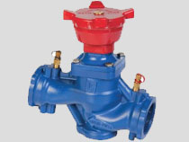 Cast Iron Variable Orifice Balancing Valve, Flanged PN16, BS7350