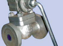 casting iron blow down valve