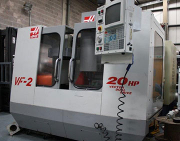 CNC vertical machine center haas
