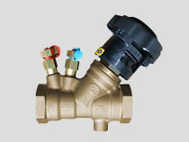 Double Regulating Balancing Valve, Screwed BSPP, with Lock Feature