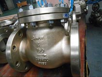 stainless steel flange check valve 4 inch 150lb