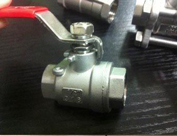 Stainless steel investment casting steel Ball valve