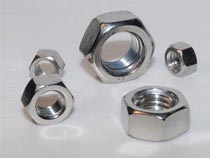 Stainless steel nylock hex nut DIN982