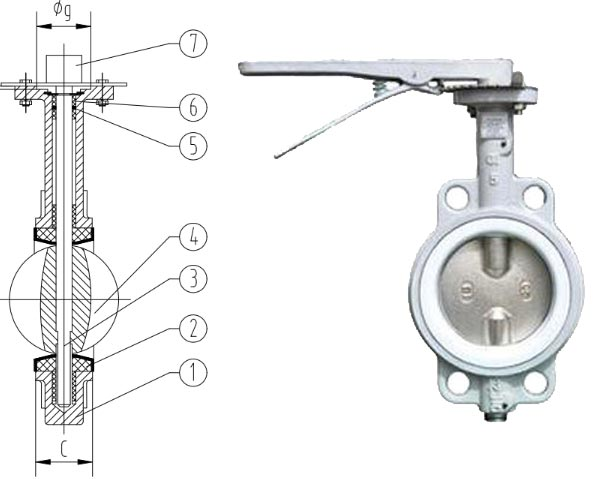 Stainless Steel Butterfly Valve | 304/316 Wafer/ Lug butterfly valves