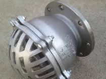 Stainless steel Flanged Foot valve