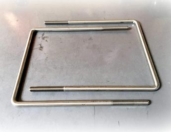 Stainless Steel Square U Bolt